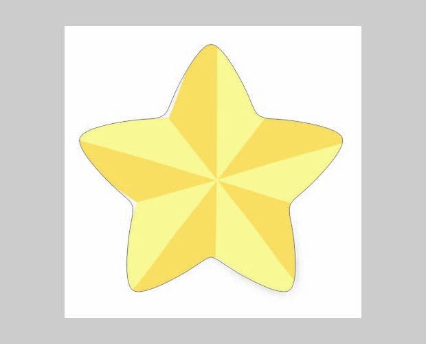 The Gold Star Shape Sticker Templates Gets You Adorable Stickers For Labeling Purposes And Also Allows To Add Desirable Texts Them