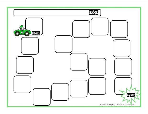 Blank board game template free premium templates for Game maker templates download
