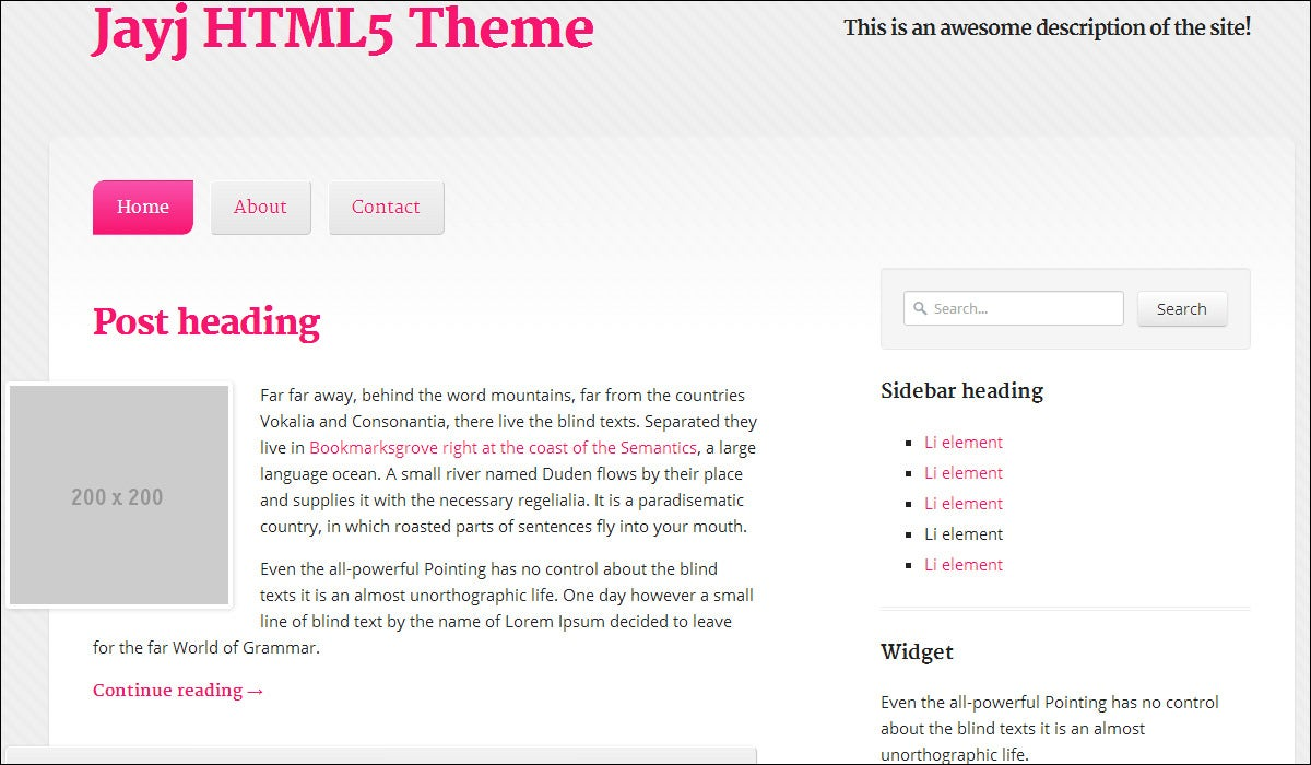 Advanced HTML5/ CSS3 Templates- Templates with Advance Features ...