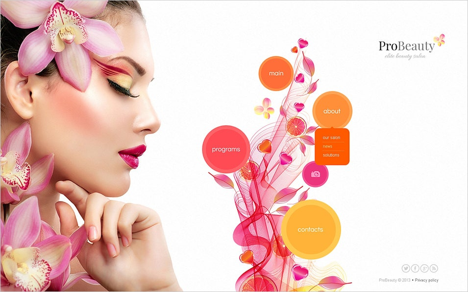 Beauty blogger template • blogspot templates 2019.