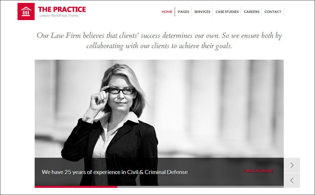 20 Best Attorney Website Templates | Free & Premium Templates