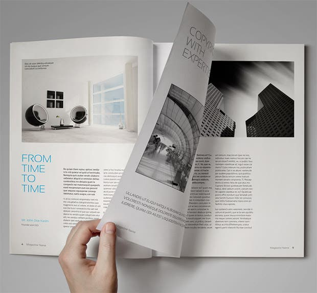 66+ Brand New Magazine Template - Free Word, PSD, EPS, AI, InDesign ...