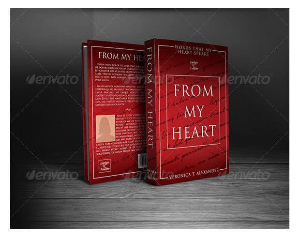 Book Cover Template Download : Book cover templates free sample example format