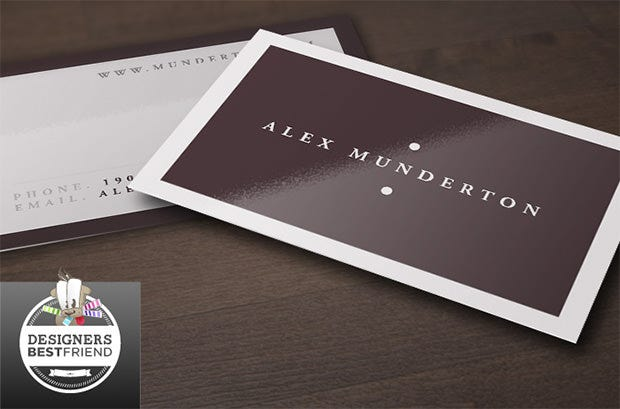 75 free and premium corporate business card templates free free minimal business card flashek Choice Image