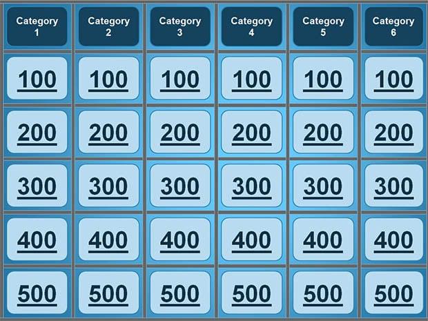 Best Jeopardy Templates Free   Premium Templates HyAT0gm9