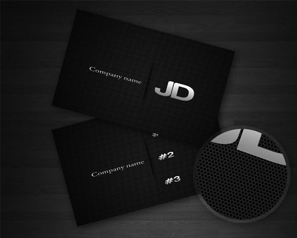 40 excellent black business cards to download free premium carbon business card template fbccfo Image collections