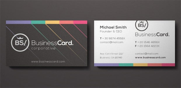 75 free and premium corporate business card templates free both front and back end views are taken care of with this template which sets aside multiple color schemes and templates logo updates are supported whereas colourmoves
