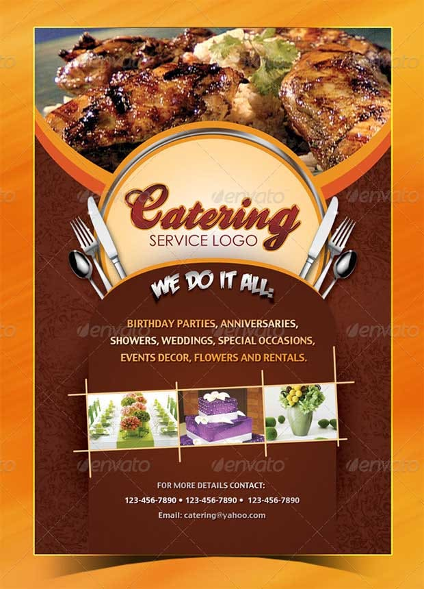 Restaurant flyer templates free word pdf psd eps