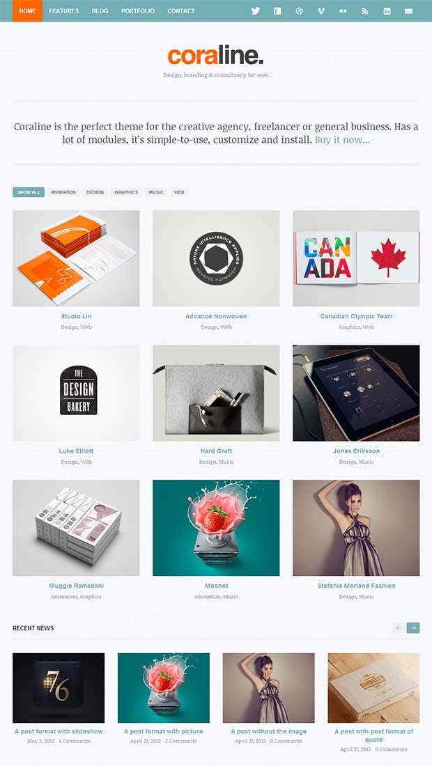 25 best premium ajax website templates free premium templates. Black Bedroom Furniture Sets. Home Design Ideas