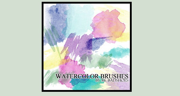 Top 22+ Stunning Watercolor Effect Photoshop Brushes to