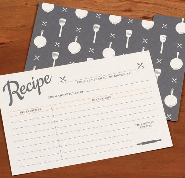 20 Free Recipe Card Page Book Templates – Sample Recipe Card