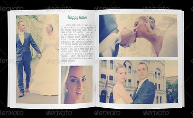 Best photo album templates free premium templates wedding photo album toneelgroepblik Images