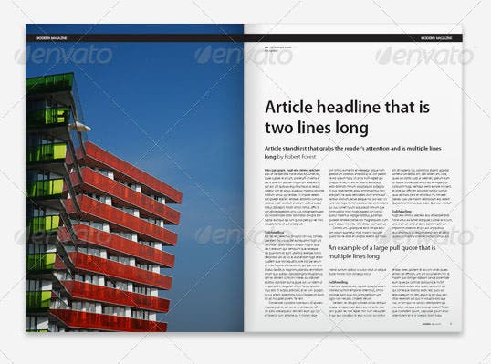 66 brand new magazine template free word psd eps ai indesign