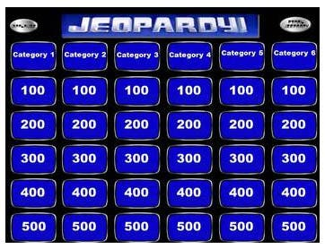 5 best jeopardy templates free premium templates for Microsoft powerpoint jeopardy game template