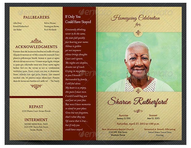 Free Funeral Program Template Download from images.template.net