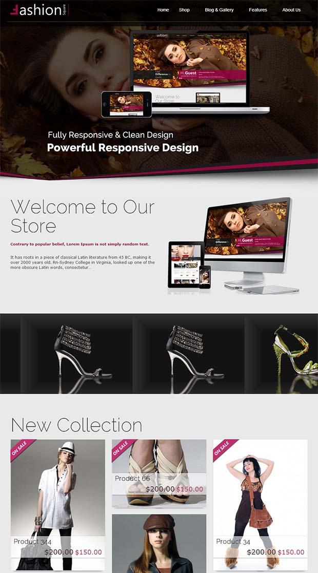 12 best boutique web design templates free premium templates