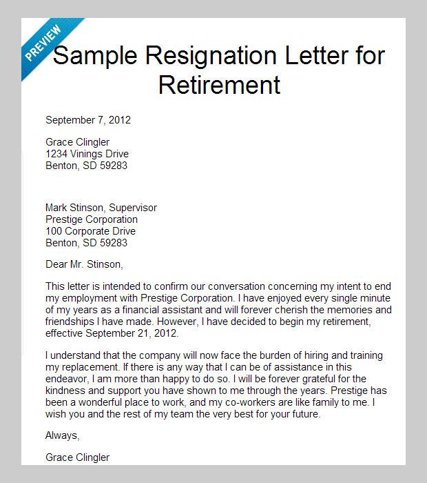 10 Best Letter of Resignation Templates | Free & Premium Templates