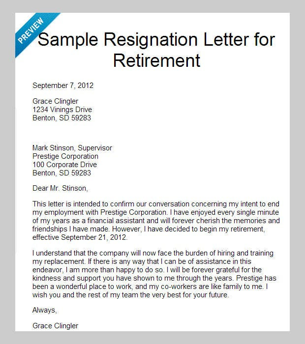 10 Best Letter of Resignation Templates | Free & Premium Templates