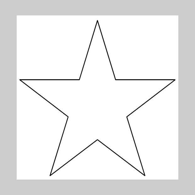 picture regarding Stars Printable Template identified as 20+ Star Templates - Star Types Crafts No cost Quality