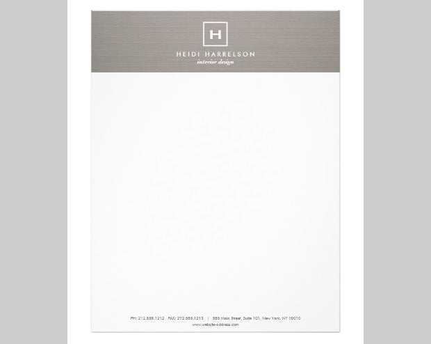 free letterhead templates with logo - 10 best premium letterhead design free templates free