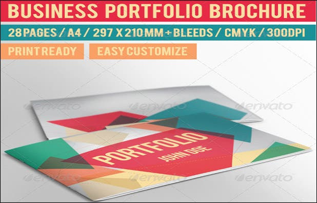 PSD Brochure Designs Free Word PSD PDF EPS InDesign - Portfolio brochure template