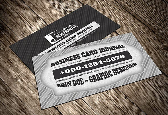 40 excellent black business cards to download free premium classic black white retro business card template colourmoves