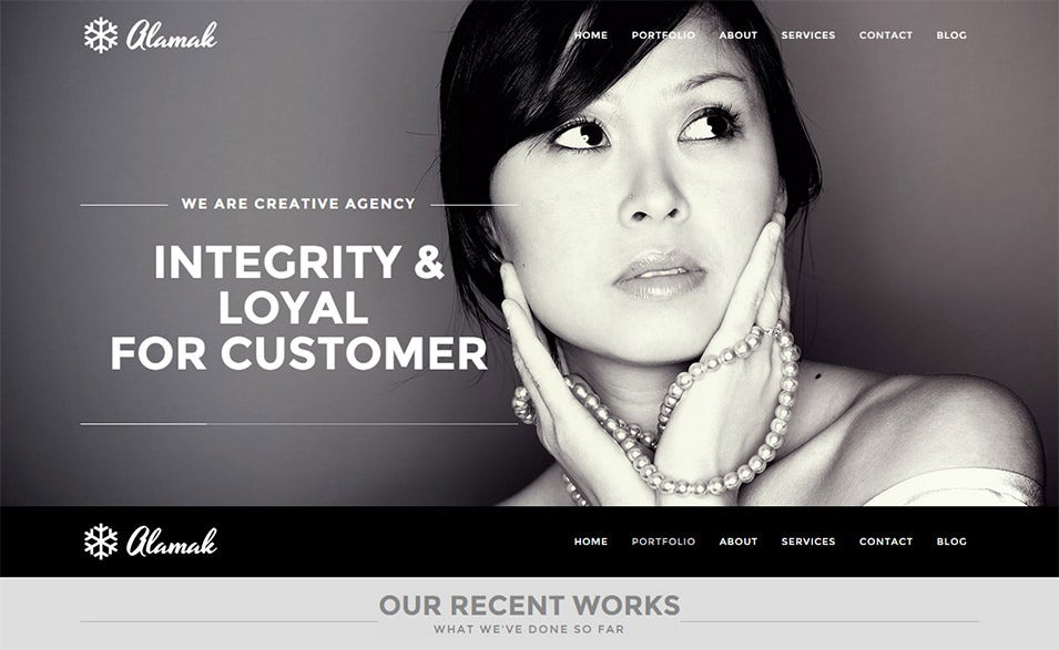 Alamak Wordpress Template