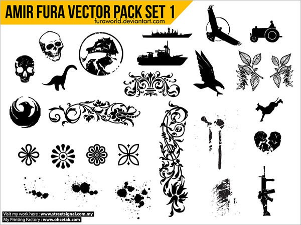 amir fura vector pack set 1