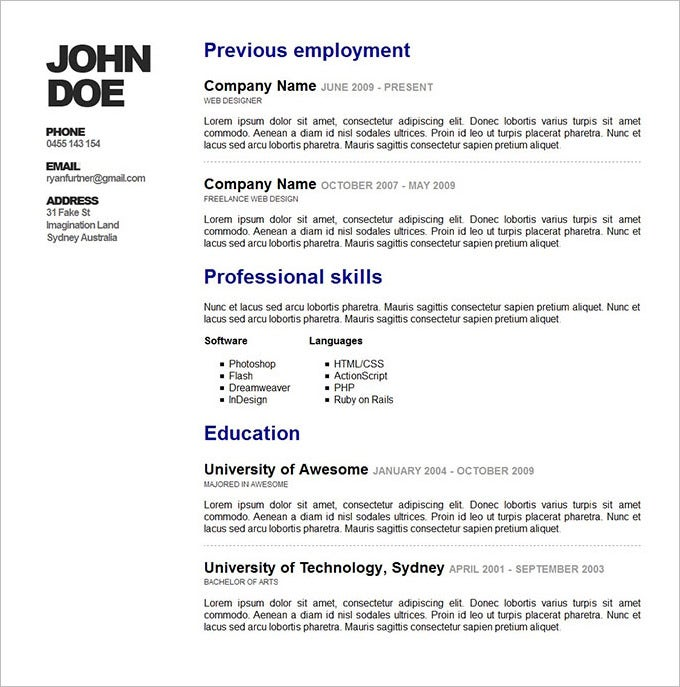 awesome online resume14