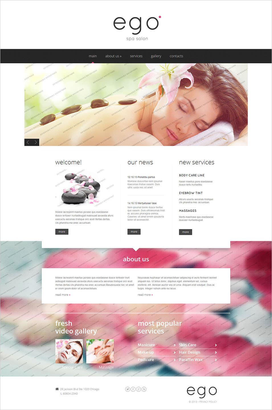 20+ Beauty Salon Website Templates | Free & Premium Templates