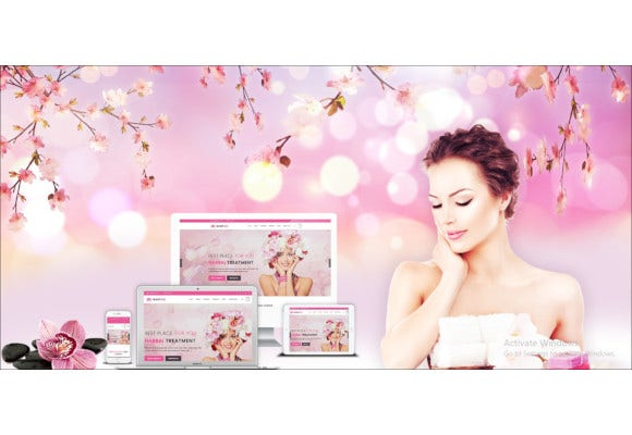 beauty salon and spa template