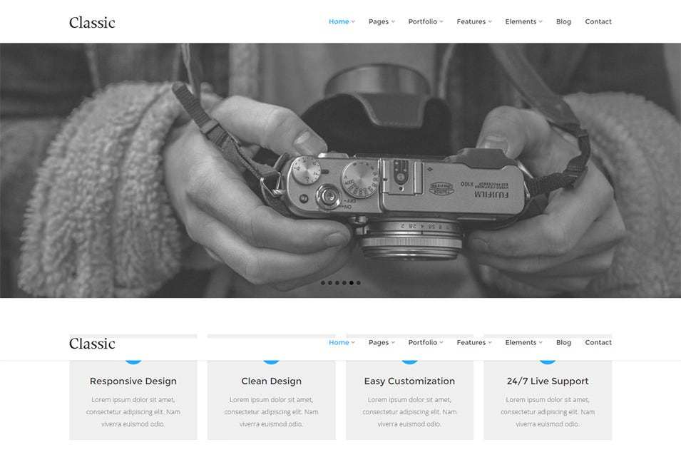 Classic Best Responsive Drupal Themes