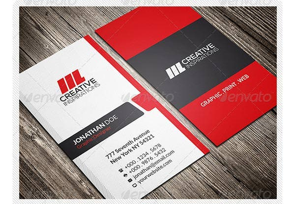 75 free and premium corporate business card templates free