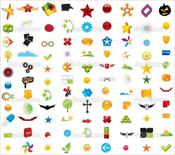 free design elements vector set