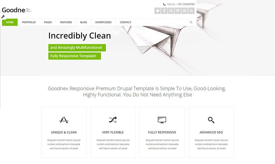Primium Responsive Drupal Theme