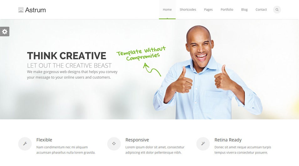 Fully Responsive Drupal Theme