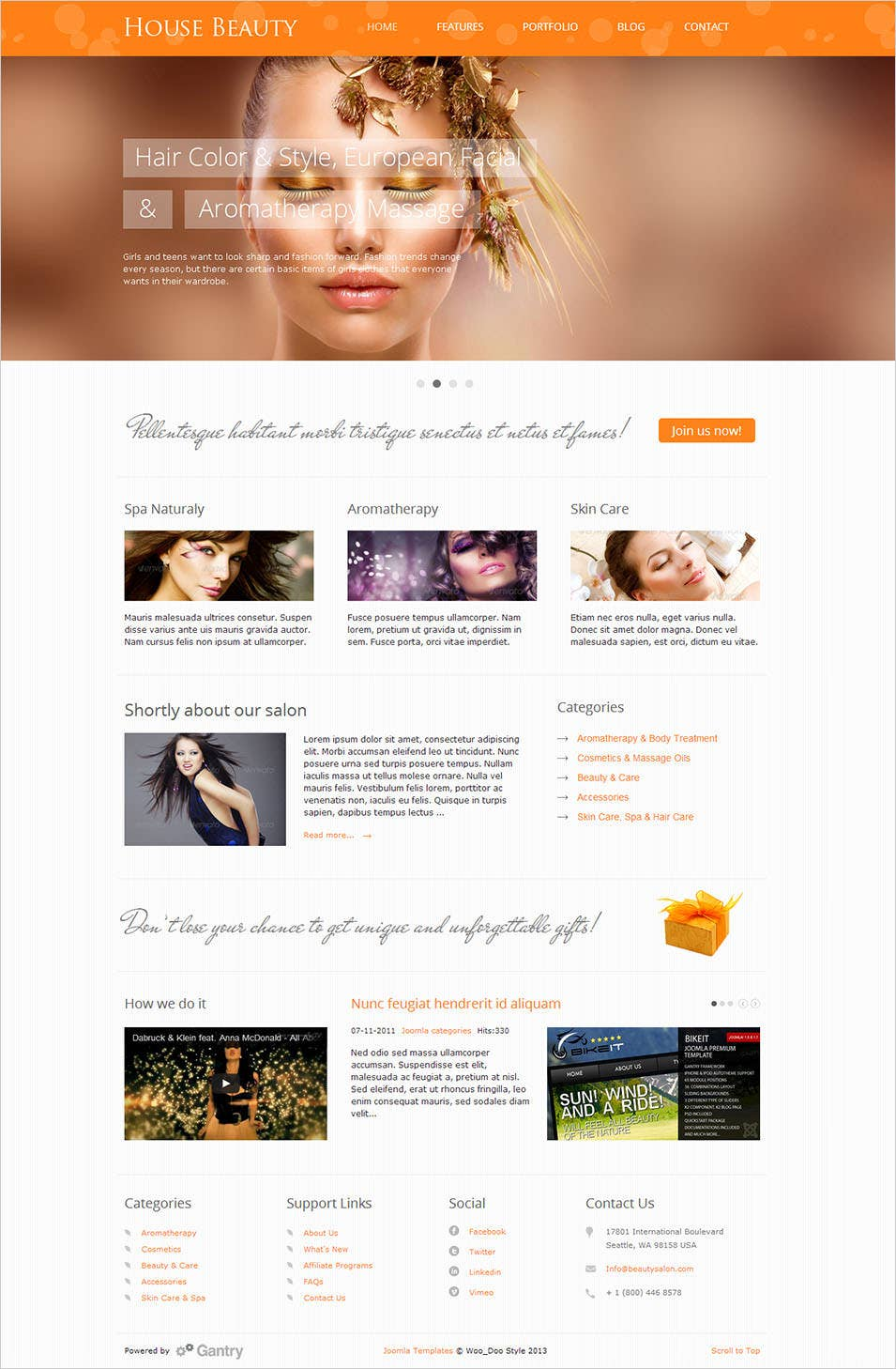 Free Beauty Magazines By Mail: 20+ Beauty Salon Website Templates