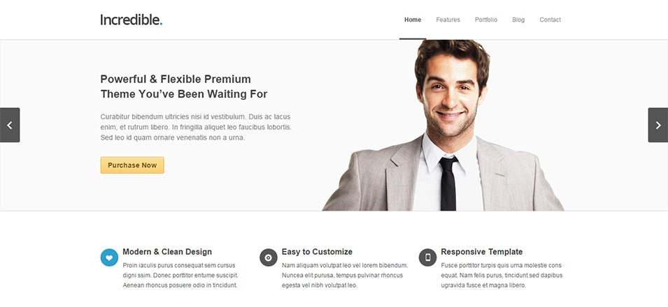 Incredible Best Responsive Drupal Template