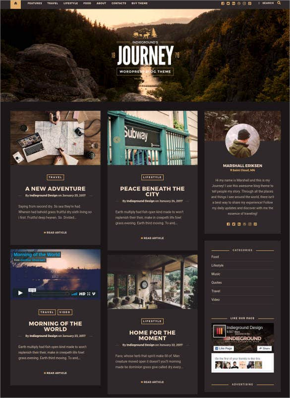 55+ Tourism Website Themes & Templates | Free & Premium Templates