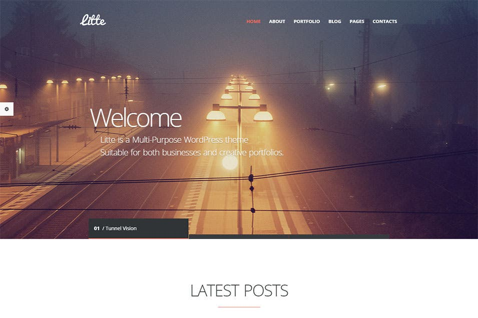 Litte Wordpress Template