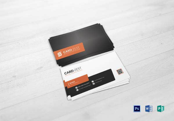 34 best qr code business card identity mockups psd word multi purpose business card template in psd wajeb Gallery