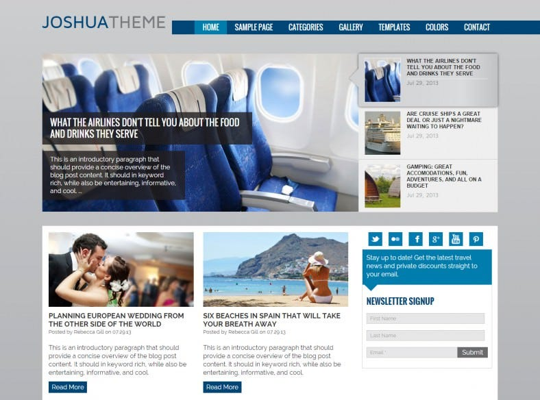 popular wordpress template for travel and travel agencies 788x584