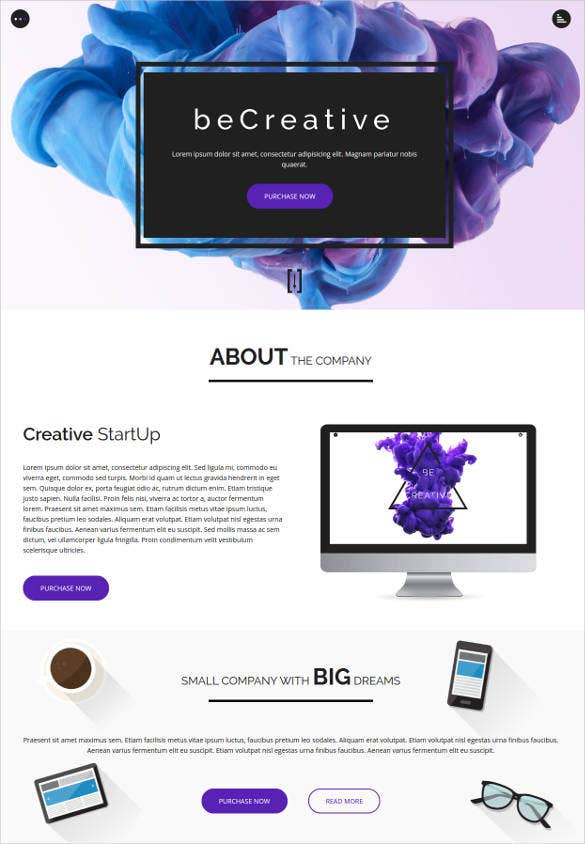 responsive business html5 blog template