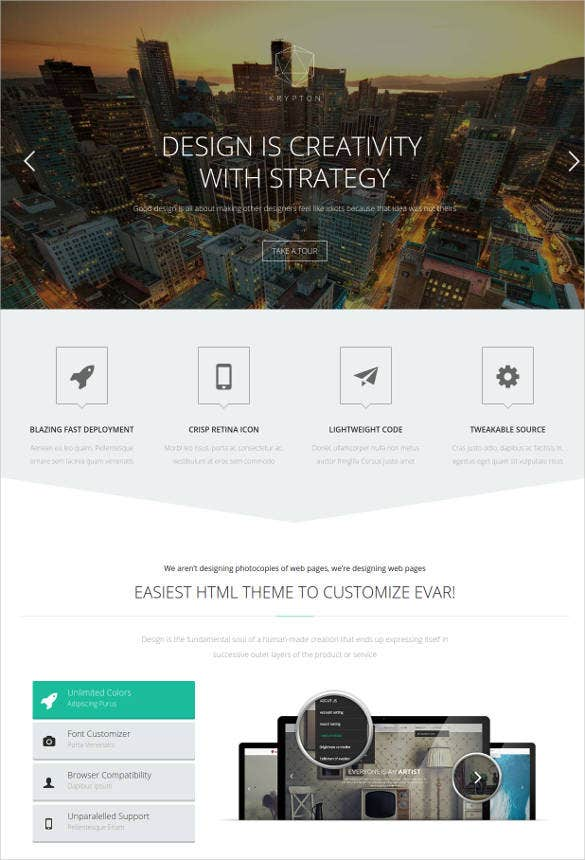 responsive corporate web html5 template1