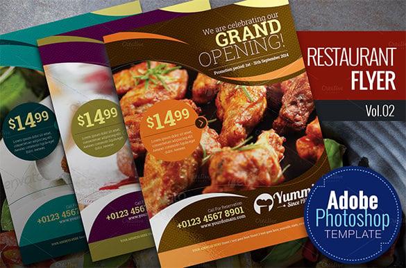 41 restaurant flyer templates free word pdf psd eps indesign