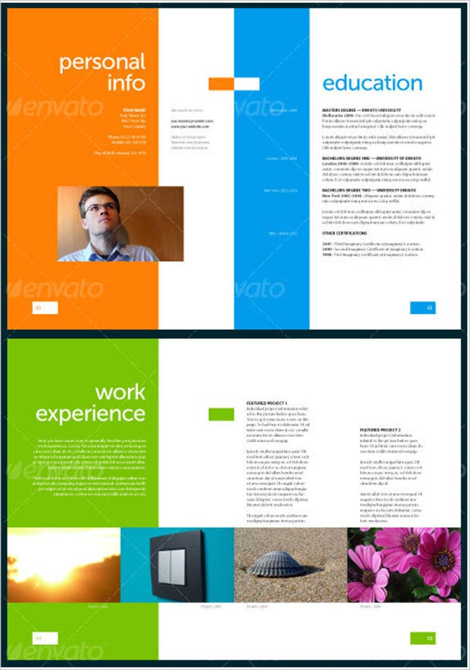 Resume Design Template Psd – 11+ Free Samples, Examples, Format