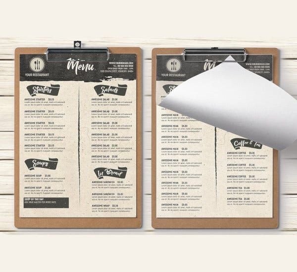 rustic-food-menu-template