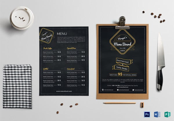 sample-restaurant-front-menu-template