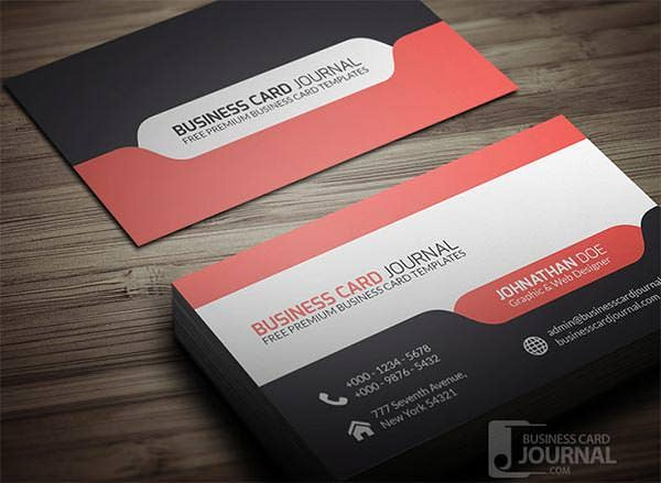 53 best premium business card template designs free premium stylish modern tab design business card template cheaphphosting Choice Image