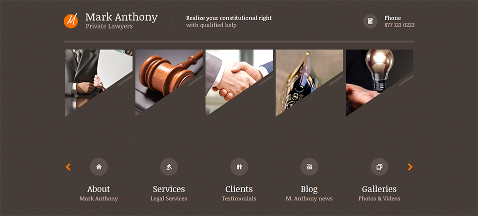 Themis Responsive Law Business WordPress Theme